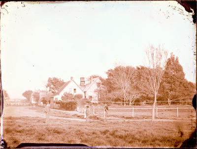 Glass Plate Negative: Alfred Charles Barker's House