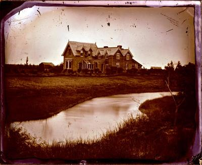 Glass Plate Negative: Lansdowne on the Halswell