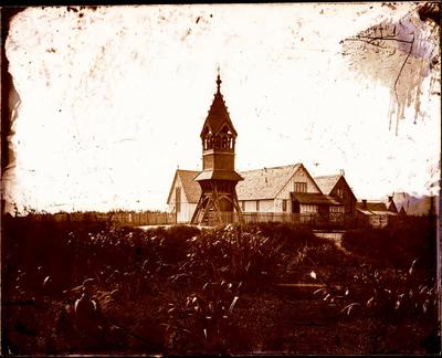 Glass Plate Negative: Saint Michael's Church