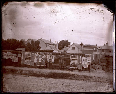 Glass Plate Negative: Posters
