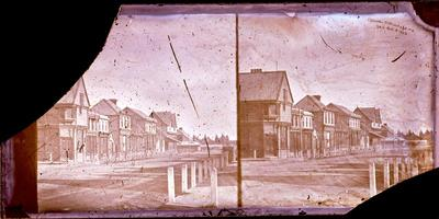 Glass Plate Negative Stereograph Slide: Colombo Street