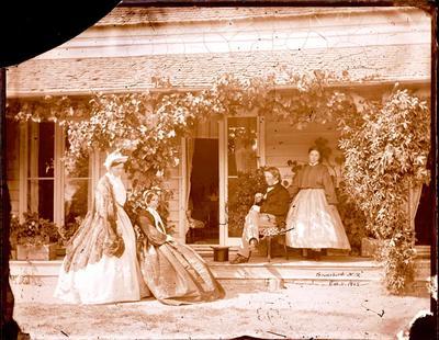 Glass Plate Negative: Judge Gresson and Family; 11 Feb 1865; 1944.78.40