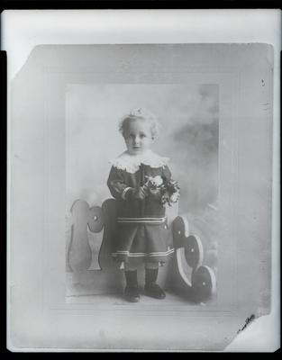 Film negative: Mr Smith, child