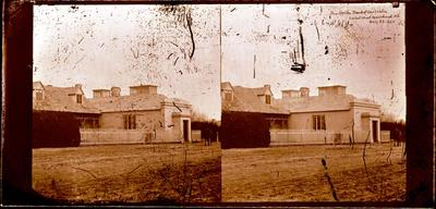 Glass Plate Negative Stereograph Slide: The Union Bank of Australia