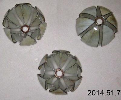 Light Fitting: Three Globe; 1904-2012; ; 2014.51.7