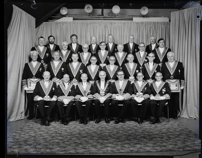 Film negative: Grand Provincial Lodge, 1976 members