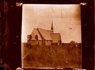 Glass Plate Negative: Saint John's Church