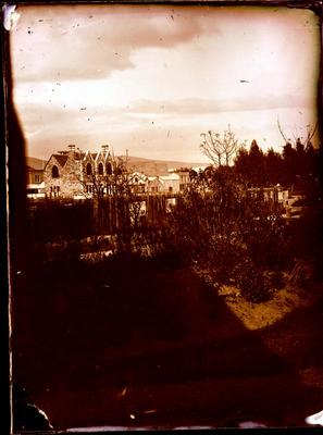 Glass Plate Negative: Cathedral Square