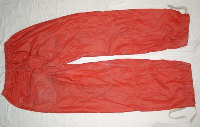 Overtrousers: Red