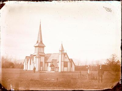Glass Plate Negative: St Peter's Anglican Church