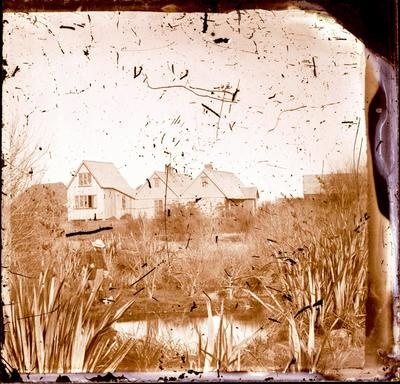 Glass Plate Negative: House and Avon