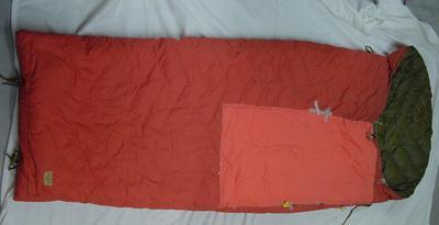 Sleeping bag; 2003.128.77
