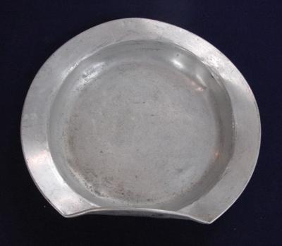 Plate: Aluminium; 2003.128.83