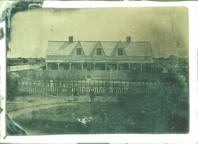 Glass Plate Ambrotype: Land Office