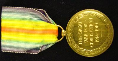 The Victory Medal 1914-1919