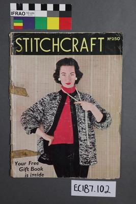 "magazine, knitting pattern: ""Stitchcraft"" No. 250"