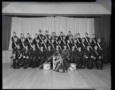 Film negative: St Columba Boys Brigade Company