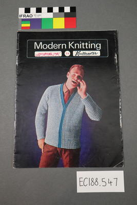 "magazine, knitting pattern: ""Modern Knitting"", July-August 1964 (NZ edition)"