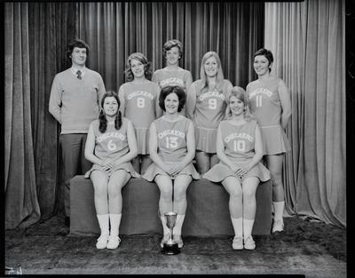 Film negative: Checkers Basketball