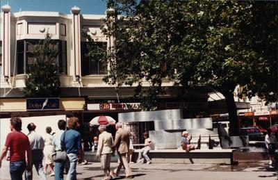 Colour Photograph: Stewart Fountain, 1985
