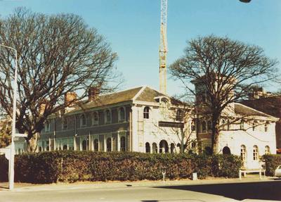 Colour Photograph: Christchurch Clubhouse, 1985