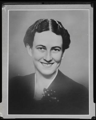 Film negative: Mr Scotter, woman