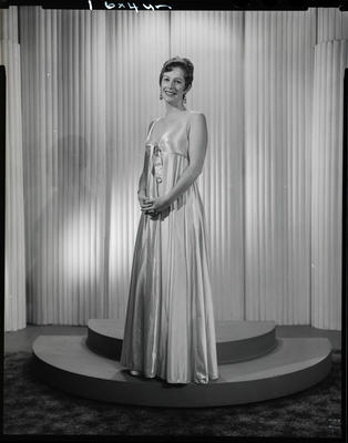 Film negative: Miss G Hamilton