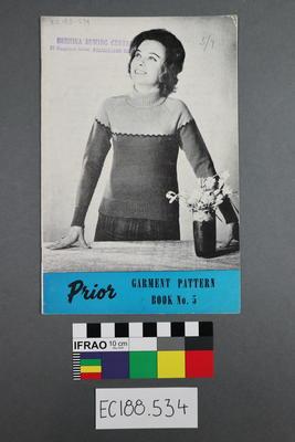 "magazine, knitting pattern: ""Prior Pattern Book No.5"""