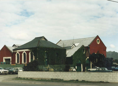 Colour Photograph: Pumping Station, Tuam Street, 1985