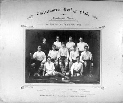 Christchurch hockey club