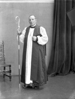 Film Negative: Right Reverend Bishop C West-Watson