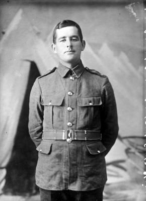 Glass Plate Negative: Lance Corporal G Beal