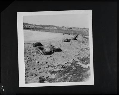 Film negative: Korr and McIntosh Lawyers, stock car race venue