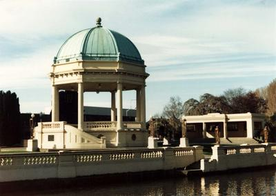 Colour Photograph: Edmonds Band Rotunda, 1985