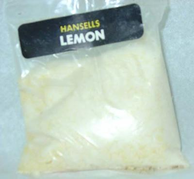 Hansells lemon powder