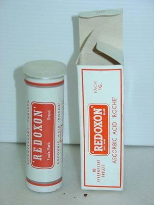Effervescent Tablets: Redoxin Ascorbic Acid