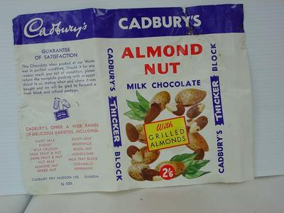Wrapper: Cadbury Chocolate