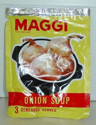 Onion Soup: Maggi