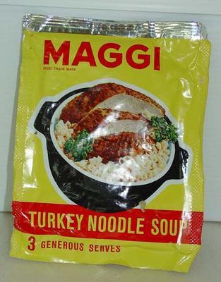 Turkey Noodle Soup: Maggi
