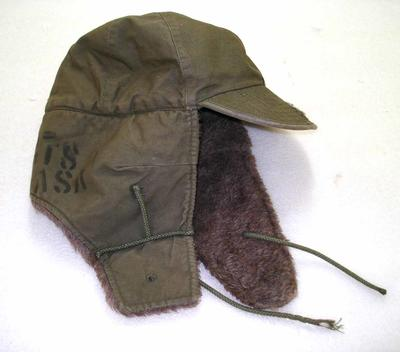 US Military Issue Hat: Windproof with Ear Flaps