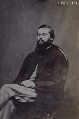 Photograph: Portrait of Frank Mathias