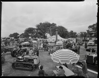 Film negative: International Harvester Company: A and P Show, display