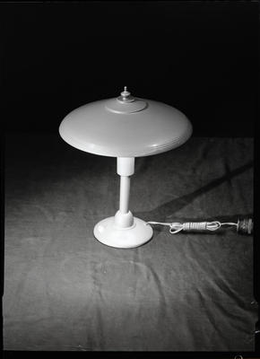Film negative: Mr Perry, lamp shade