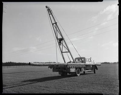 Film negative: International Harvester Company: SEEP six man cab truck