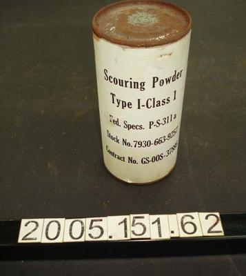 Tin: Scouring Powder