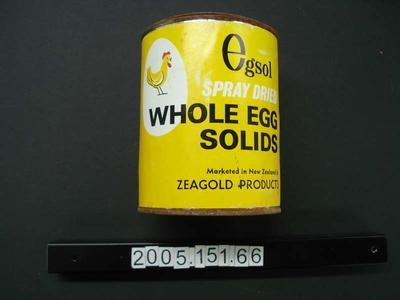 Tin: Dried Eggs