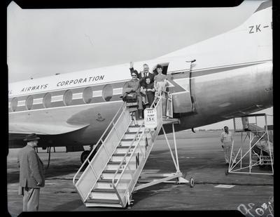 Film negative: International Harvester Company: farewell to Mr G T Lyon