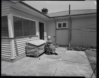 Film Negative: Mrs Plastoe's house