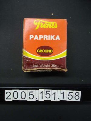 Box: Ground Paprika