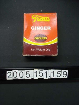 Box: Ground Ginger